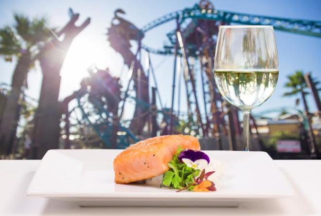 Busch Gardens Tampa Bay  Food Wine