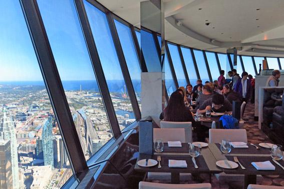 restaurante 360 na CN Tower