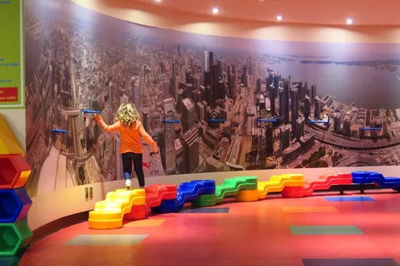 Kids Zone na CN Tower