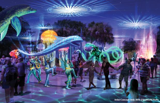 Electric Ocean SeaWorld Orlando