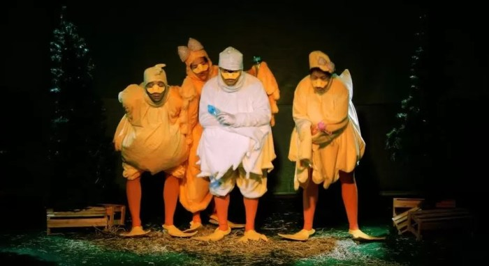 o nascimento do patinho feio