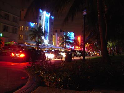 South Beach à noite