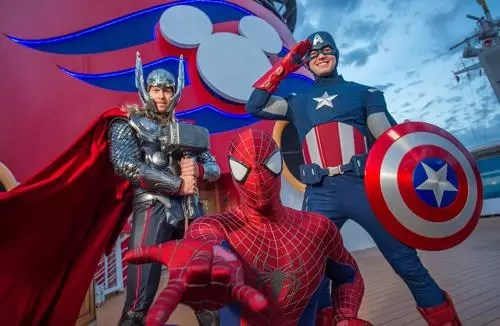 Marvel Day Navio DIsney