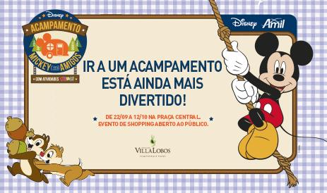 Acampamento Mickey