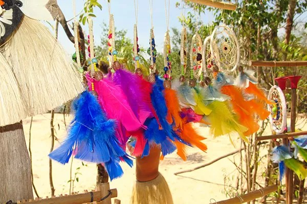 Artesanato indios amazonia