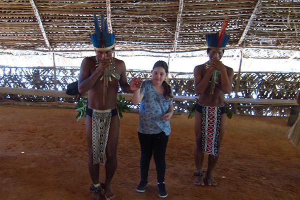 Índios na amazonia