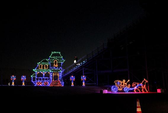 Magic of Lights no Daytona Speedway