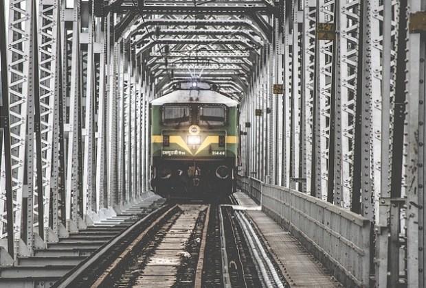 trem india