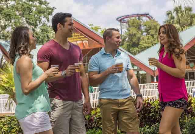 Free Beer at Busch Gardens Tampa Bay