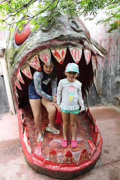 Hot Park - @aslaranjinhas na boca da piranha
