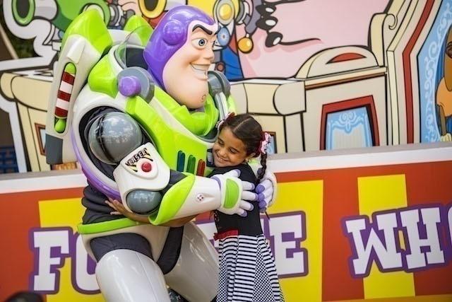 Buzz Lightyear in Toy Story Land