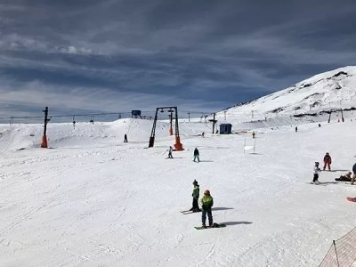 Vulcao Villarrica Esqui