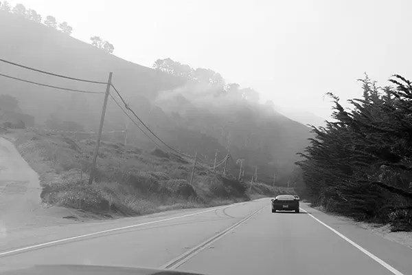 Road Trip Highway1 California Nevoa