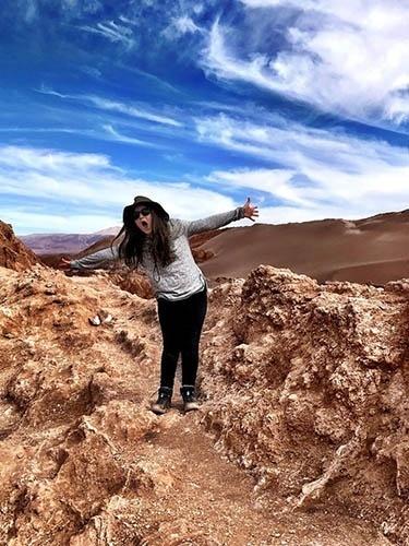 Vale da Lua deserto do Atacama