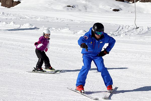 Portillo aula esqui