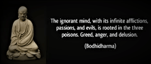 The Ignorant Mind Buddha Quote