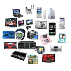 all kinds of electronics
