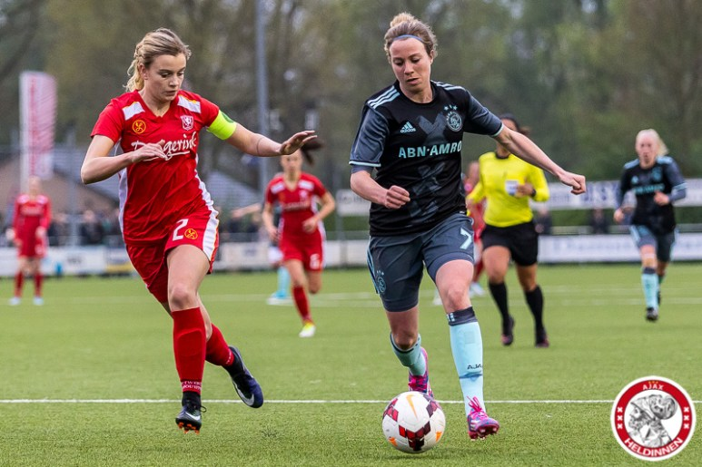 2017-05-05 FC Twente - Ajax vrouwen- 00009