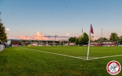 22-09-2017: Voetbal: Vrouwen Ajax v ADO den Haag: Amsterdam Eredivisie vrouwen Sportpark de toekomst seizoen 2017-2018 foto veld
