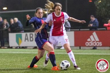 2018-01-26 Ajax vrouwen - VV Alkmaar- 00003