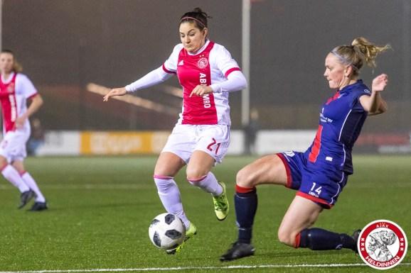 2018-01-26 Ajax vrouwen - VV Alkmaar- 00011