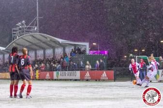 2018-02-09 Ajax vrouwen - Excelsior Barendrecht- 00009