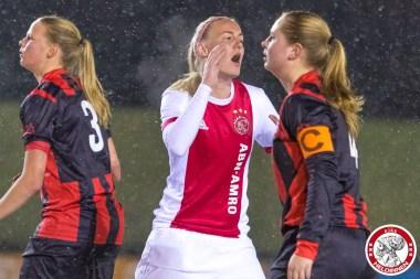 2018-02-09 Ajax vrouwen - Excelsior Barendrecht- 00010