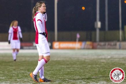 2018-02-09 Ajax vrouwen - Excelsior Barendrecht- 00020
