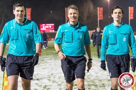 2018-02-09 Ajax vrouwen - Excelsior Barendrecht- 00021