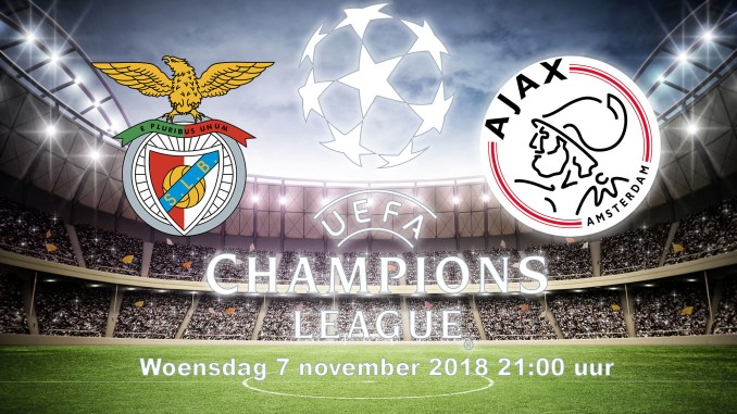Benfica - Ajax 7 november 2018 Champions League