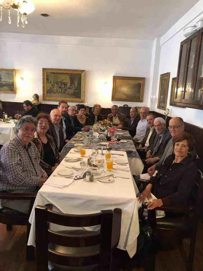Almuerzo Filial de Bolivia de Noviembre 2018