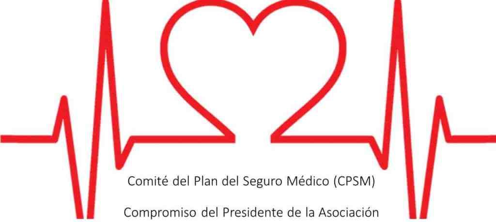 Comité del Plan del Seguro Médico: Compromiso del Presidente de la Asociación