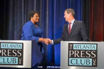 In 2018, Democrat Stacey Abrams narrowly lost the governor's race to Republican Brian Kemp. Since then, her national profile has soared, gaining her some consideration as a running mate for Joe Biden. She also has started a number of influential advocacy groups and grown her media platform, with lucrative book projects in the works. (ALYSSA POINTER/ALYSSA.POINTER@AJC.COM)
