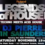 Legends of House Techno meets acid house
