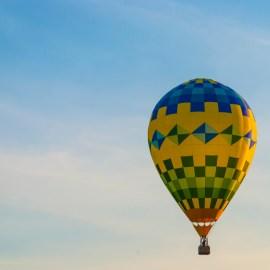 Hot Air Balloon Rising | Frankenmuth, MI (2013)