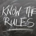Las 5 reglas del monitor de ajedrez