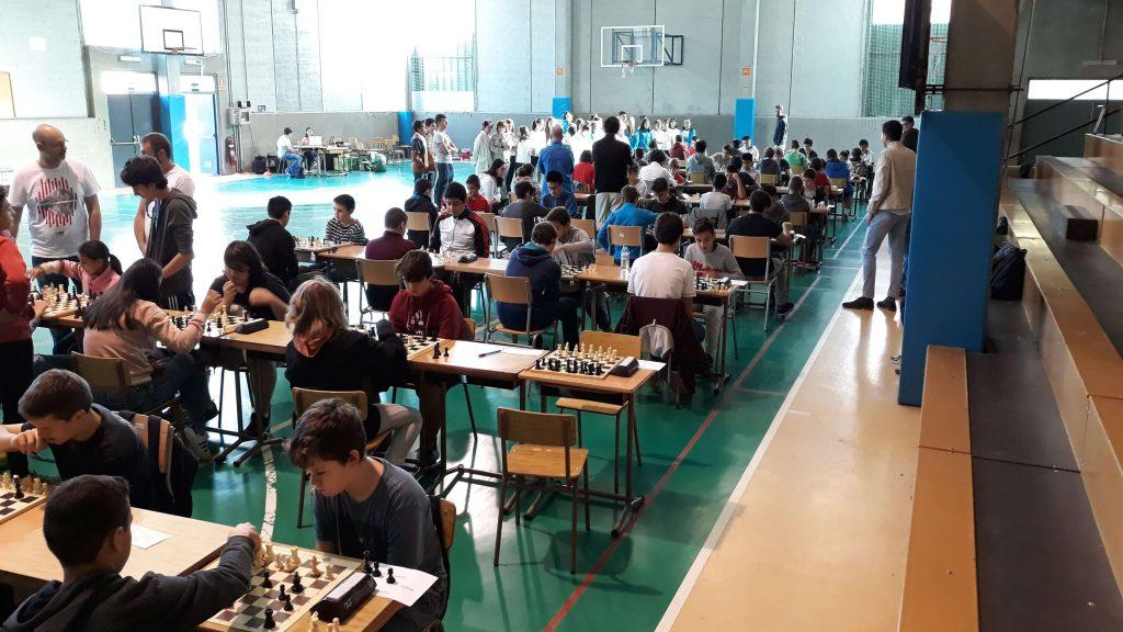 torneo ajedrez escolar