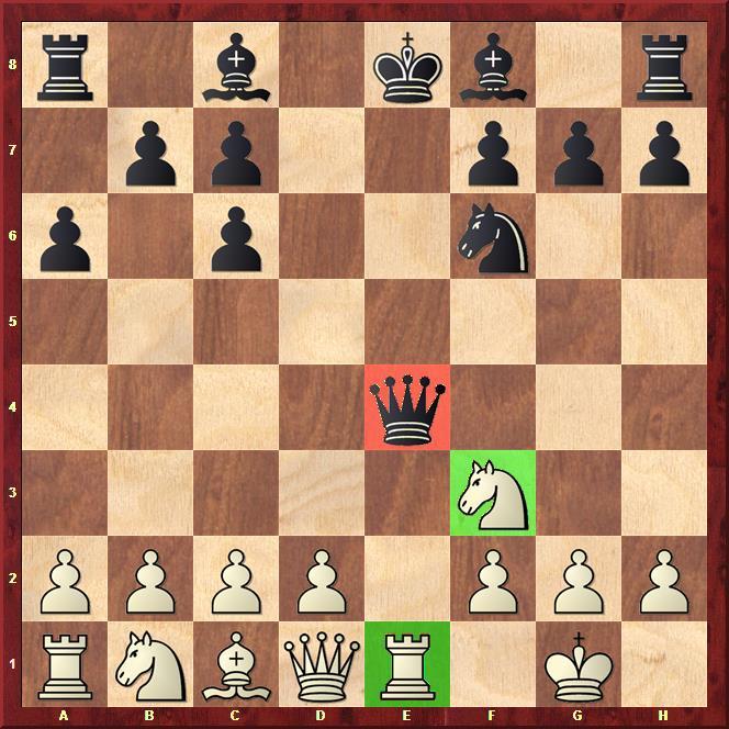 clavada ajedrez escolar