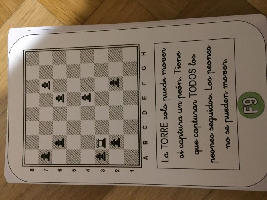 reto ajedrez educativo