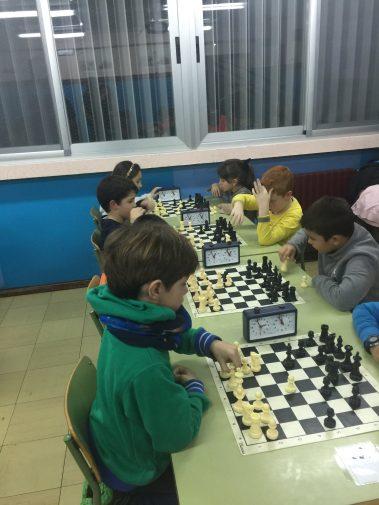 Los niños disfrutando durante el torneo