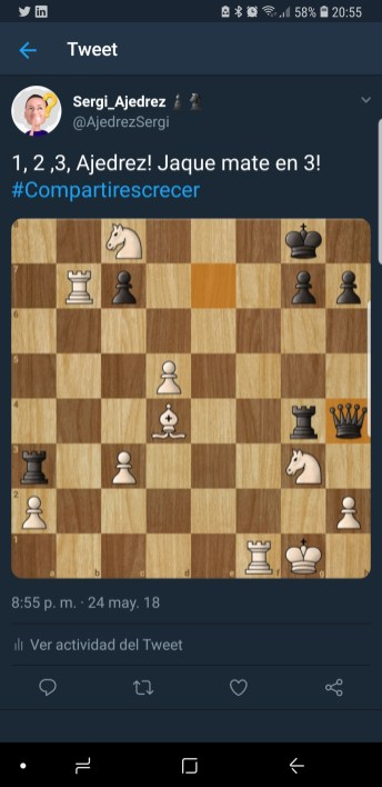 Sergi y su pasión por el ajedrez