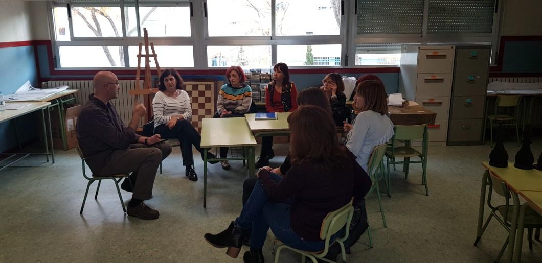TABLEMIND llegó al Colegio Público Zalfonada