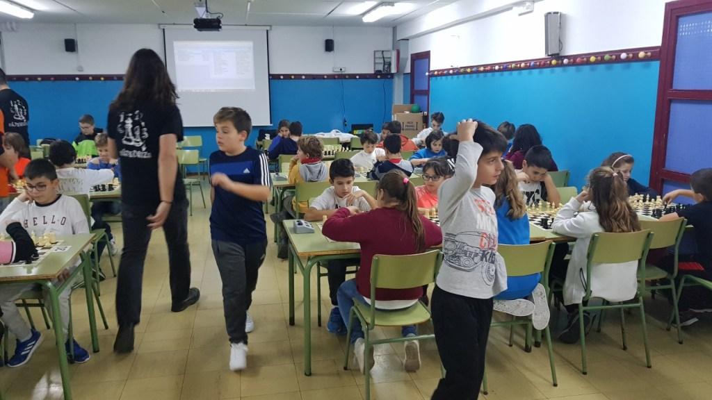 Encuentro de Ajedrez en el Zalfonada