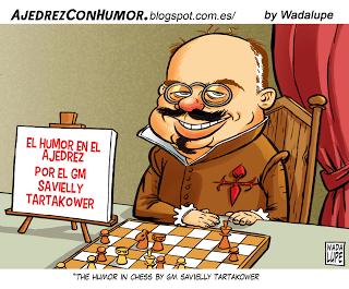 Tartakower y el humor en el Ajedrez