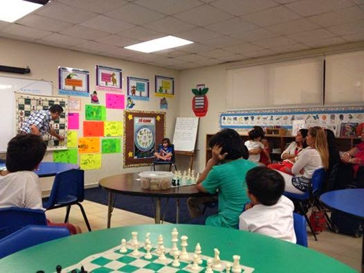 Charla de Ajedrez Carol Morgan School Santo Domingo, 15/05/14