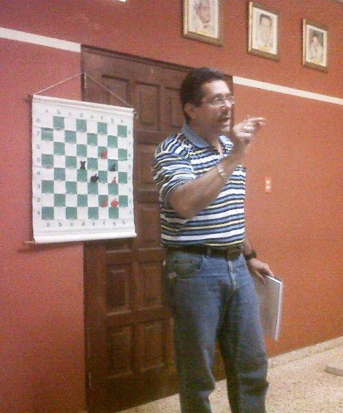Conferencias en la Federación Dominicana de Ajedrez