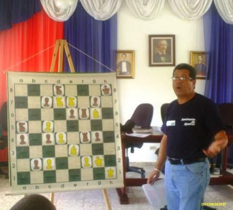 Fundación Liss Chess / Seminario en Castillo, San Fco. 26-27/10/13