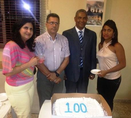 Reconocimiento 100 Conferencias LISS CHESS / FDA