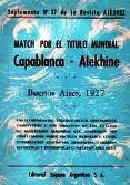 Capablanca vs Alekhine - Buenos Aires 1927