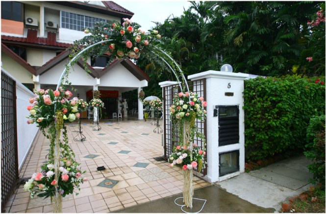 Simple Home Wedding Decoration Ideas On Decorations With